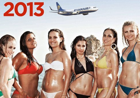 Ryanair Calendar Girls