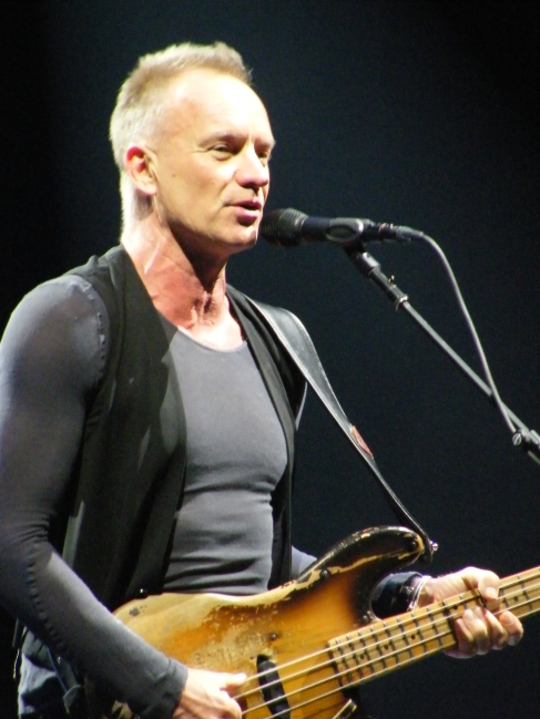 Sting in Poland
