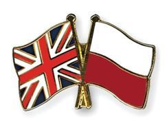 Polish English flag