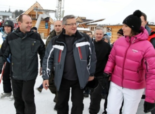 President Komorowski backs Polish Olympic bid
