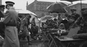 Scene from Schindlers List, filmed on Szeroka in Kazimierz, Krakow.