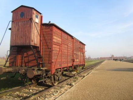 Birkenau Rail Car